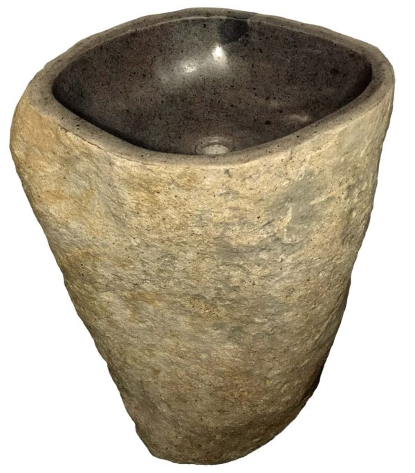 Pedestal de piedra River Stone.